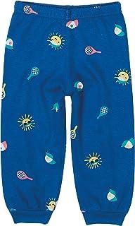 Calça Jogging Sol Menino Em Malha Malwee, Azul Escuro, criança-unissex, G