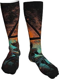 Yuanmeiju Calcetines gruesos y cálidos Horizon Zero Dawn Aloy Silhouette Soft Comfort Crew Socks Casual Athletic 20in Long...
