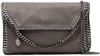 Luxury Fashion | Stella Mccartney Womens 364519W91321220 Grey Shoulder Bag |
