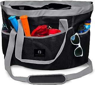 Red Suricata große Netz Strandtasche - Strandtaschen und Einkaufstaschen