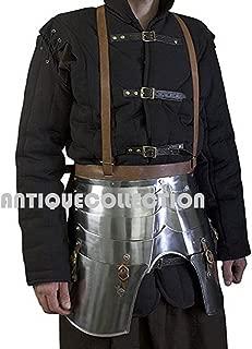 Imperial Faulds and Tassets - LARP Medieval Leg Armor Metallic