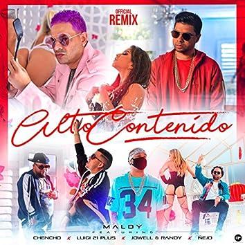 Alto Contenido (Remix)