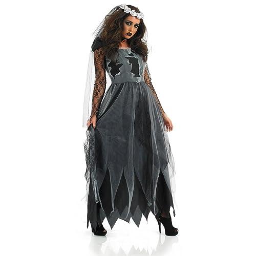 Corpse Bride Halloween Costume Diy.Corpse Bride Costume Amazon Co Uk