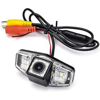 aSATAH Fisheye Lens Car Rear View Camera for Buick Enclave//Chevy Chevrolet Traverse//GMC Acadia//Saturn Outlook /& Waterproof and Shockproof Reversing Backup Camera Fisheye Lens