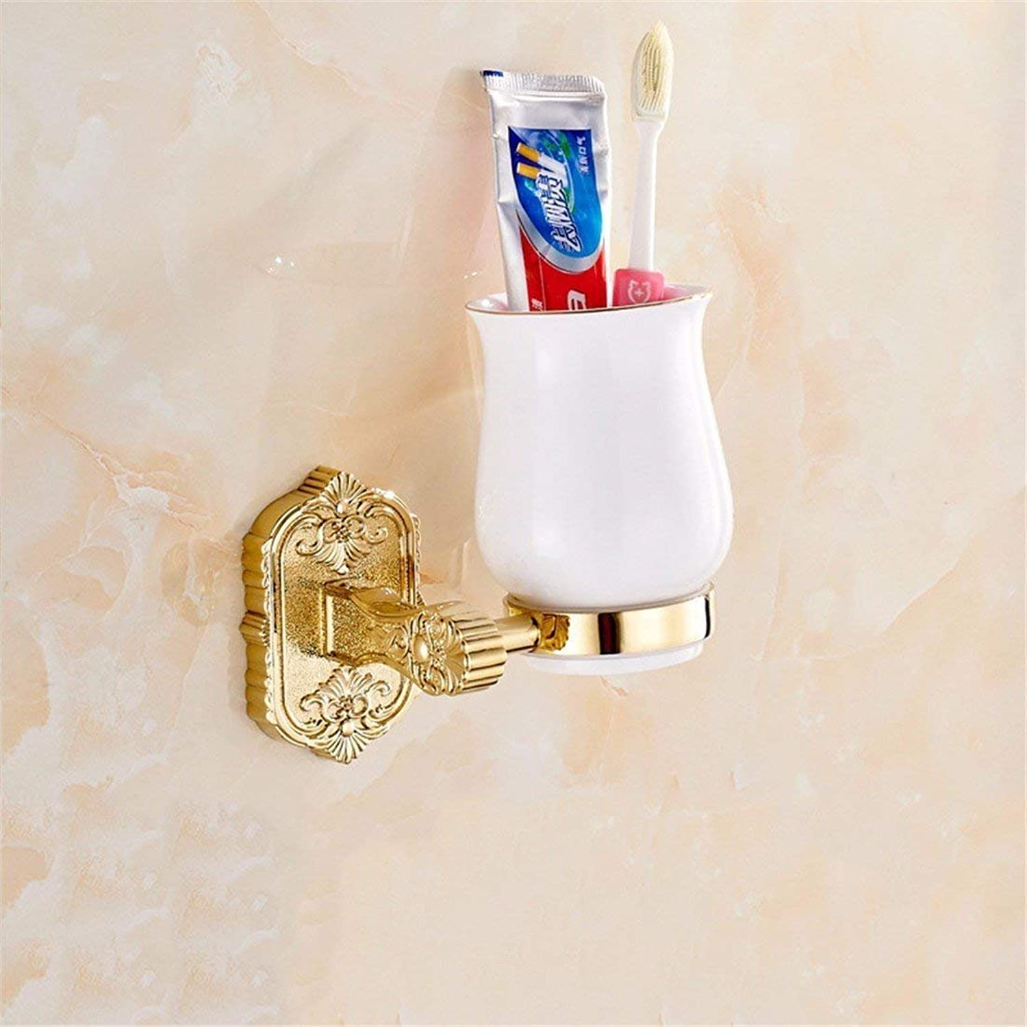The zinc Alloy, gold Carved Christmas, Basis of Bathroom Fittings, Toilet Paper, soap,Single Cup