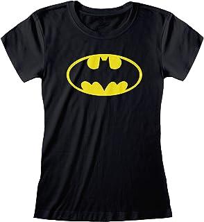 DC Comics Batman Classic Logo de Las Mujeres Camiseta Cabida  mercancía Oficial