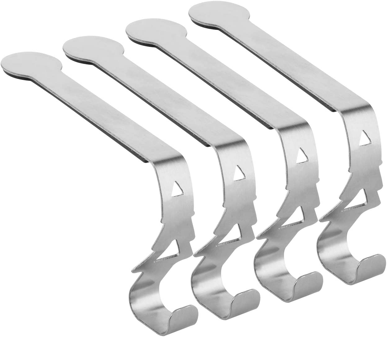 Cosmos Pack Sales of 4 Metal Christmas Hook Hanger Limited time trial price for Stocking Christ