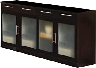 Best frosted glass sideboard Reviews