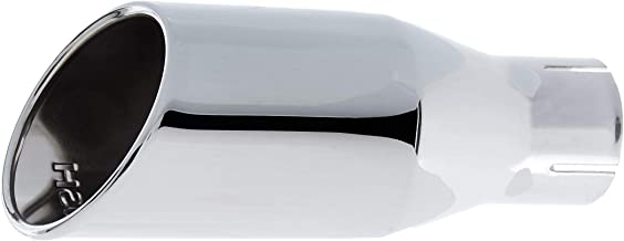 Roush 421159 Exhaust Tip (Round, Rear Exit, Polished Stainless Steel, Mustang)