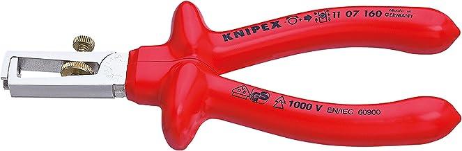 KNIPEX Afstriptang met openingsveer, universeel 1000V-geïsoleerd (160 mm) 11 07 160