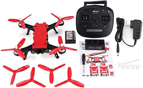 GreatWall MJX Bugs 8 Pro B8pro 65 km h Hochgeschwindigkeitsbürstenloser Motor RC Racing Drone Rot