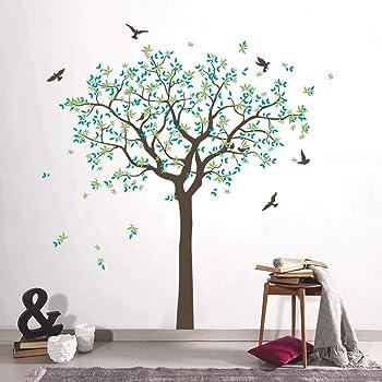 Ajcwhml Hermosa música árbol Papel Tapiz decoración del hogar Etiqueta de la Pared para niños habitación decoración Vinilo Arte Pegatina: Amazon.es: Hogar