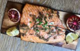 Cedar Grilling & Oven Planks PRE-SOAKED in MERLOT, CHARDONNAY, BOURBON and READY to USE | Gourmet FLAVOR INFUSED | Perfect Size for Salmon, Steak, Pizza | Open, Grill & Serve | 6 Pack Set