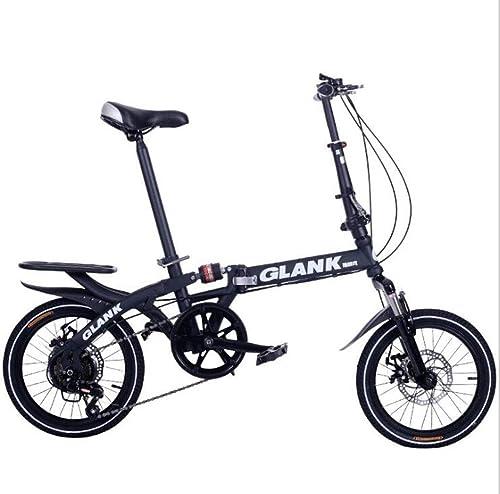 el mejor servicio post-venta GHGJU Bicicleta Plegable Bicicleta Bicicleta portátil Bicicleta de Velocidad Variable Variable Variable absorción de Choque para Caminos de Montaña y Carreteras de Lluvia y Nieve Esta Bicicleta es Plegable  barato