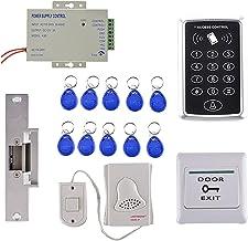 Blesiya RFID Toegangscontrolesysteem Kit + Deurslot + RFID + Voeding + Exit-knop