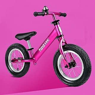 AMYDREAMSTORE Ajustable Bicicleta Sin Pedales para Ni?os Ni?o, Caminando Deporte Bicicletas De Empuje 2, 3, 4 A?os, Formación Ni?os Bicicleta De Equilibrio Sin Pedales Vespa del Bebé