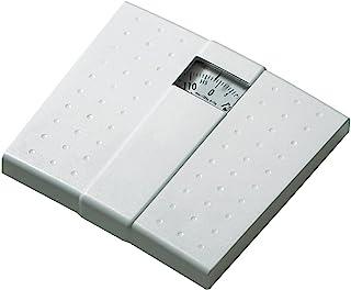Beurer MS01 Báscula mecánica, pantalla analogica, pantalla grande, diseño retro, pesa hasta 120 kg, superficie antideslizante, no necesita pilas, color blanco