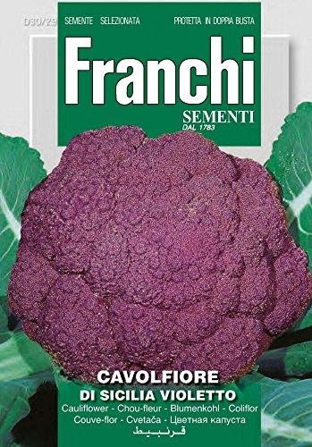 Kohlsamen - Blumenkohl Di Sicilia Violetto von Franchi Sementi
