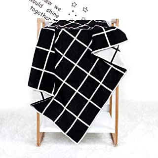2019 Baby Blanket, Knitted Plaid Quilt, Air Conditioning Blanket Cart Cellular Pram Cot Bed Newborn Crochet Quilt Nursery ...