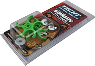 TECHT Paintball Squishy Paddles - Original Design [Cyclone Feed Hoppers] - Green