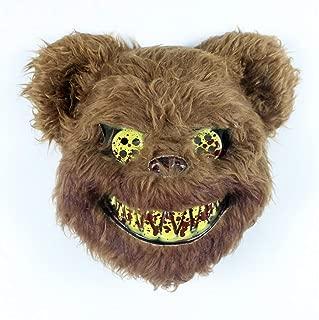 WNGCAR AU Horror Bear Rabbit mask cos Halloween Cute Animal Headdress