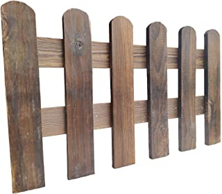 Arlai 50x30cm(LxH) Scalable Instant Fence Country Corner Picket Garden Creations Patio Wood Fence