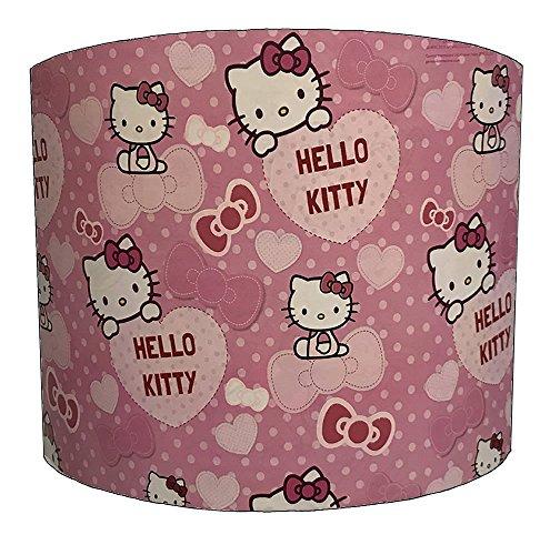 DELPH DESIGN LIGHTING LTD 20,3 cm Hello Kitty pour Enfant Abat-Jour pour Une lumière Ceiiling, 30,5 cm