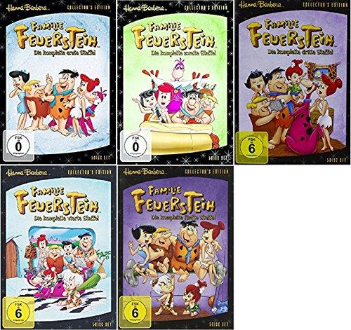 Familie Feuerstein Staffel 1-5 (1+2+3+4+5) Die komplette Serie The Flinstones [DVD Set]