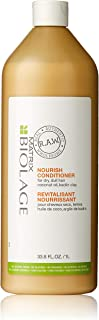 BIOLAGE R.A.W. Nourish Conditioner for Dry, Dull Hair with Coconut Oil and Kaolin Clay