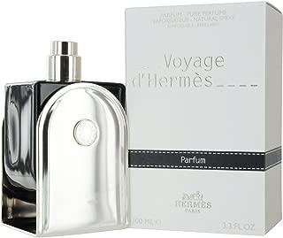 Hermes Voyage D'hermes Parfum Refillable Spray for Unisex, 3.3 Ounce