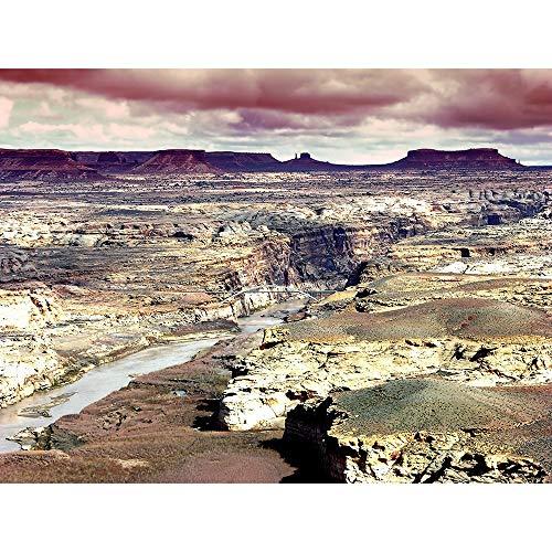 Puzzles Gran Cañón De Colorado Serie Rompecabezas, 500/1000/1500/2000 Pieza, Entretenimiento Rompecabezas De Madera Juguetes, Muy Buen Juego Educativo 0602 (Color : B, Size : 1500 Pieces)