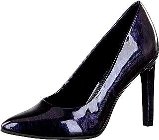 MARCO TOZZI Chaussures à Talon Aiguille pour Femme Noir/Violet