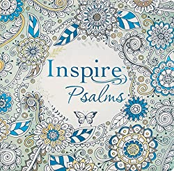 inspire psalms bible journaling and coloring for grown-ups