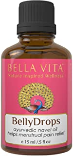 Bella Vita Organic Belly Drops Ayurvedic Navel Oil For Menstrual Periods Pain Relief, 15 ml