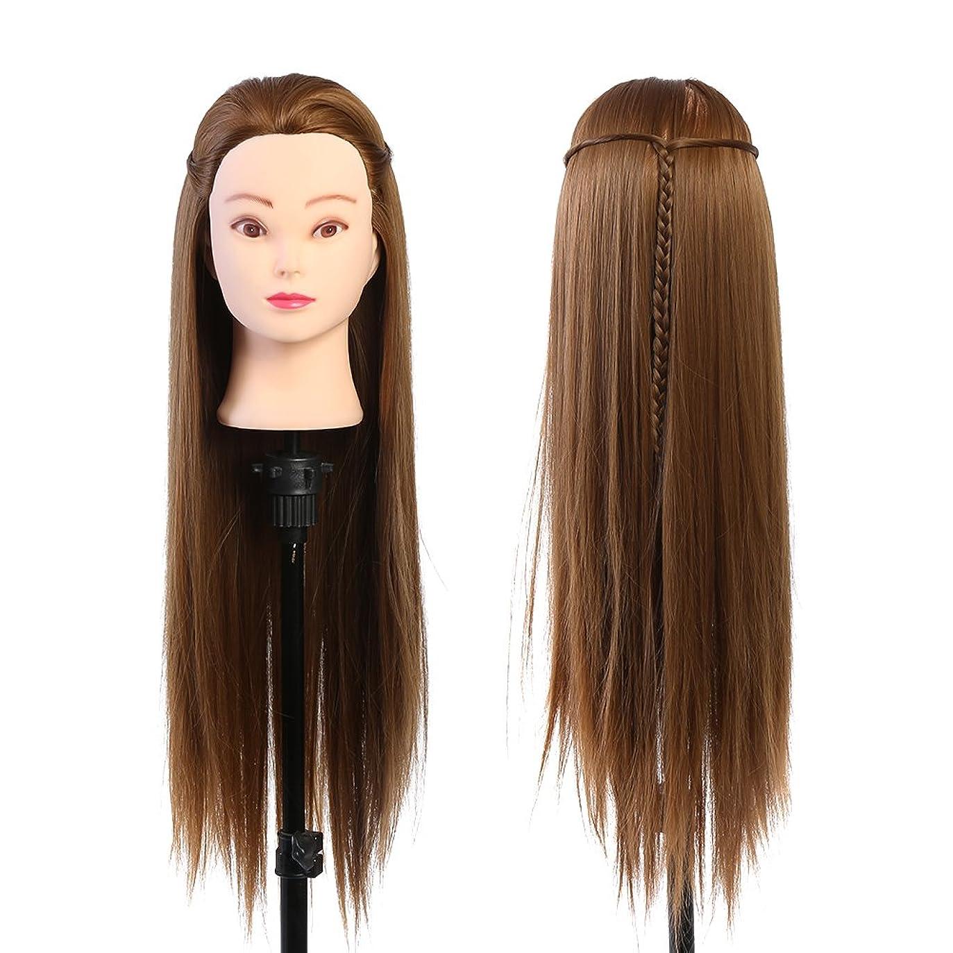 成功改修囲むメイクアップマネキンヘッド美容師のトレーニングヘッド美容師の人形頭のブロンドゴールデンブラウン