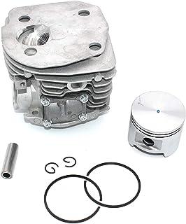 HURI 47mm Cylindre et soupape dallumage pour Husqvarna 357 357XP 359 tron/çonneuse Remplace 537 15 73-02 537157302