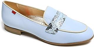 جلد أصلي مصنوع في يل حذاء Bryant Park 2.0 بدون كعب لون أزرق نابا ناعم/فايبر، 9.5 US