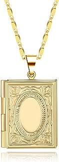 Best gold rectangle locket Reviews