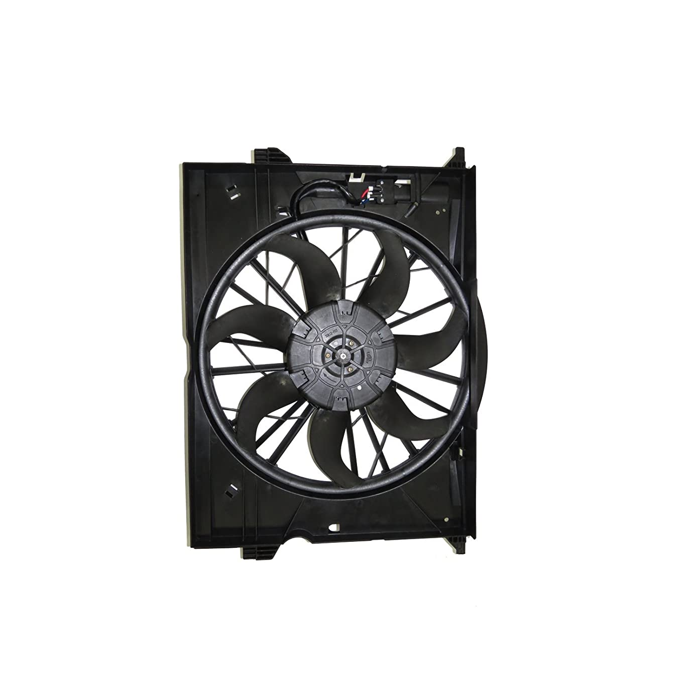 TYC 621510 Mercedes-Benz Replacement Cooling Fan Assembly