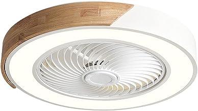 """48W 22"""" Plafondventilator met verlichting en afstandsbediening, creatieve kroonluchter 3 kleurveranderingen, acryl + metaa..."""