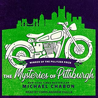 The Mysteries of Pittsburgh audiobook cover art