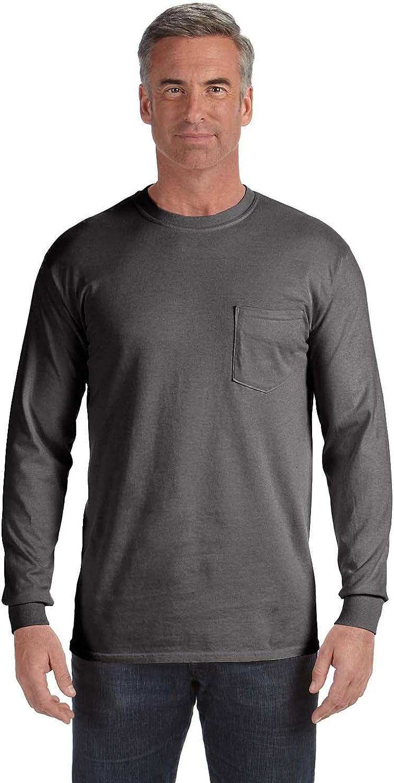 Comfort Colors 6.1 Brand new oz. T-Shirt Max 52% OFF Pocket Long-Sleeve C4410