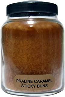 A Cheerful Giver Praline Caramel Sticky Buns Baby Jar Candle, 6-Ounce