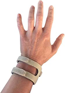 WristWidget (TM) - Patented, Adjustable Support, Wrist Brace for TFCC Tear- Triangular Fibrocartilage Complex Injuries, Ulnar Sided Wrist Pain, Weight Bearing Strain - One Size Fits Most - Tan