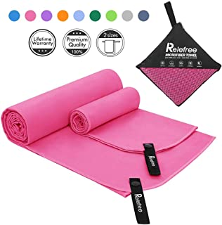 Compact Swimming Gym /& Travel /& Beach Towels 2 Pack for Camping aegend Microfiber Bath Towel 30 x 60 Travel Super Absorbent /& Soft Yoga Backpacking Lightweight Hiking