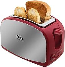 Torradeira French Toast Inox Vermelho 220v PHILCO, 56202011