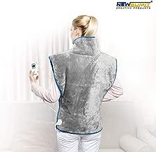 protection automatique off 3 heures. 80x150cm pour matelas 90-100x200cm- 60W NEWSUMIT- Surmatelas chauffant Appareil de chauffage pour masseur 3 niveaux