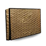 Stylista PVC Waterproof 50 Inch Led/LCD Tv Cover with Checkered Pattern - Multicolor