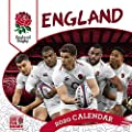 Official England Rugby Union 2022 Calendar - Month To View Square Wall Calendar from Danilo Promotions LTD