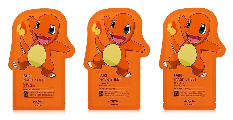 見捨てるセッティングマニアTonymoly Pokemon Sheet Mask pack(3 Sheets) トニーモリ― ポケットモンスター マスクパック 3枚入り (FAIRI (3 Sheets))